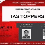 Meet the Civil Service 2012 Toppers at CEC