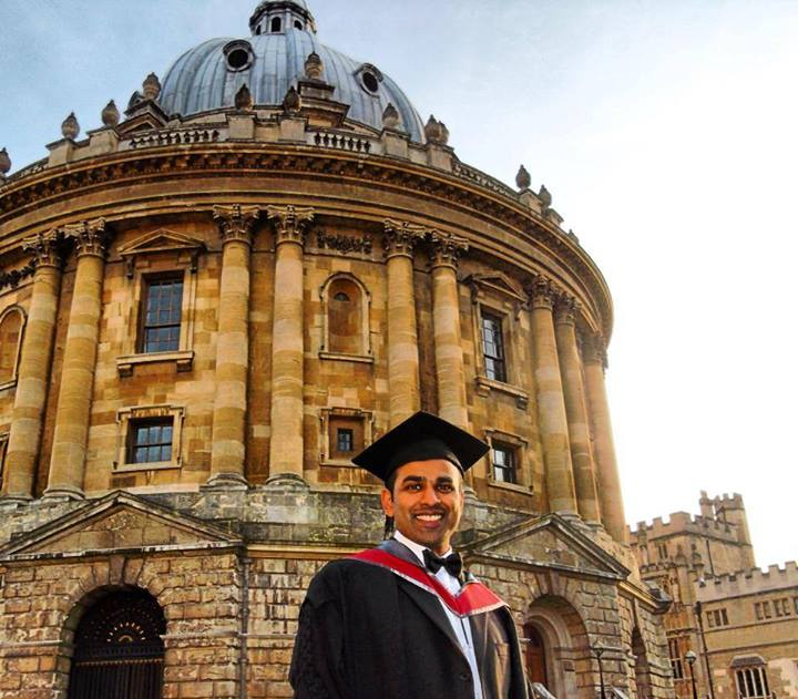 Sujith Rafel at Oxford